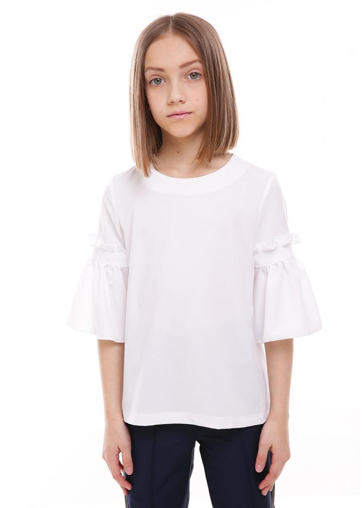 Шкільна блузка Дана білий Софія Шелест
