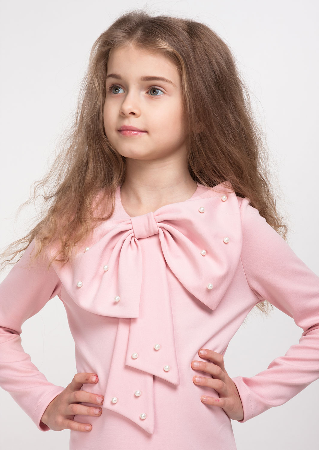 Платье Лолита розовое