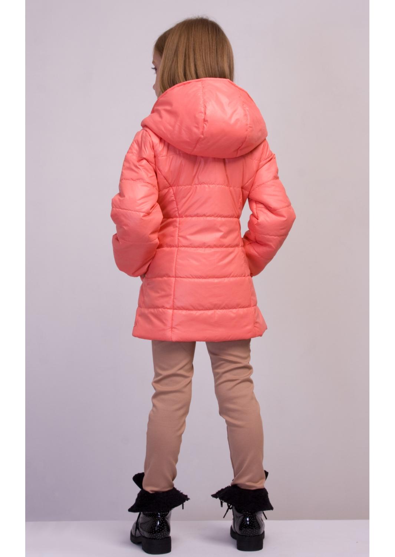 Куртка Деми розовый