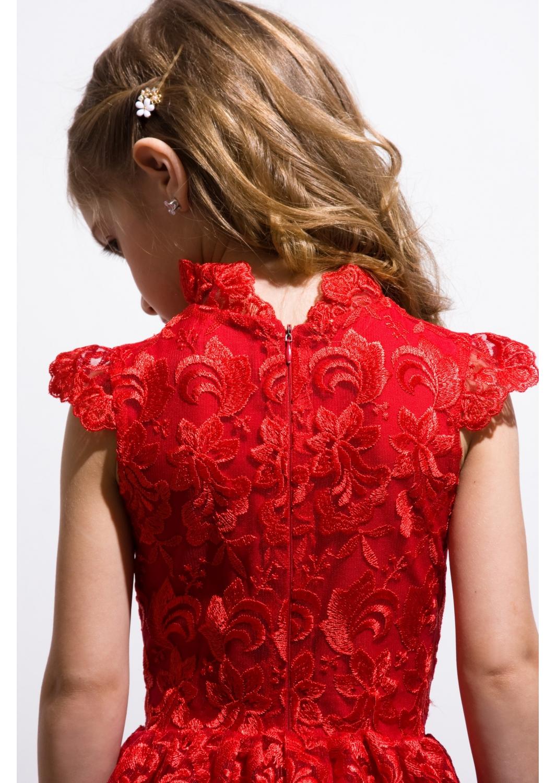 Платье Марго красное
